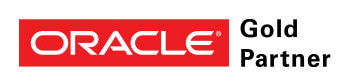 Oracle Gold Partner logo - Home