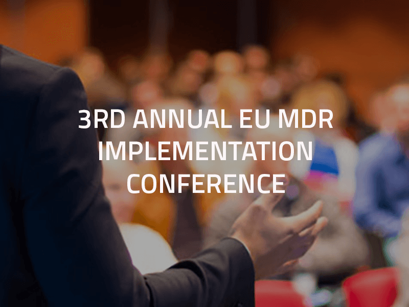 3rd Annual EU MDR Implementation Conference - Events