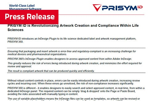 Artwork Management Press Release - Latest News